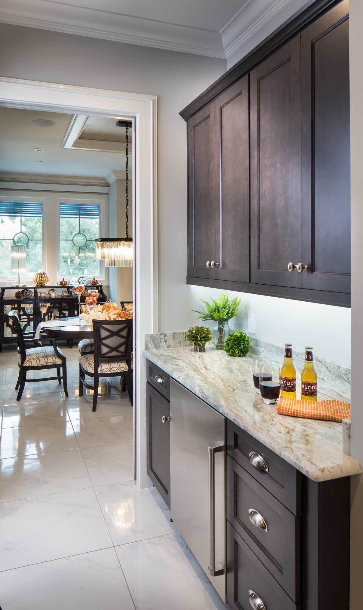 View this new home on the Gulf Coast of Florida with Showplace Cabinetry throughout.