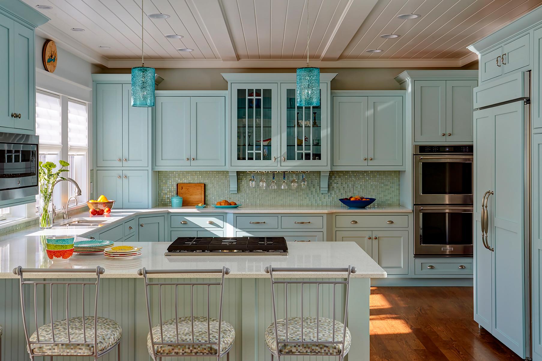 Coastal Inspiration Lexington Kitchen Cabinet View1