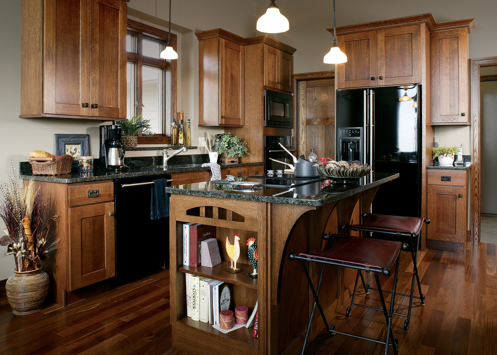 View this Mission-style kitchen | Showplace Cabinetry