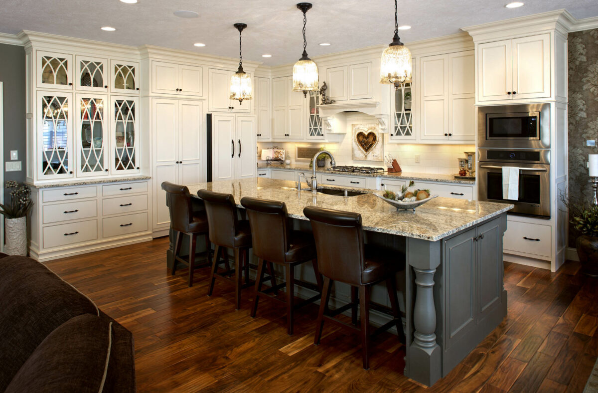 See This Kitchen S Graceful Glass Doors Showplace Cabinetry