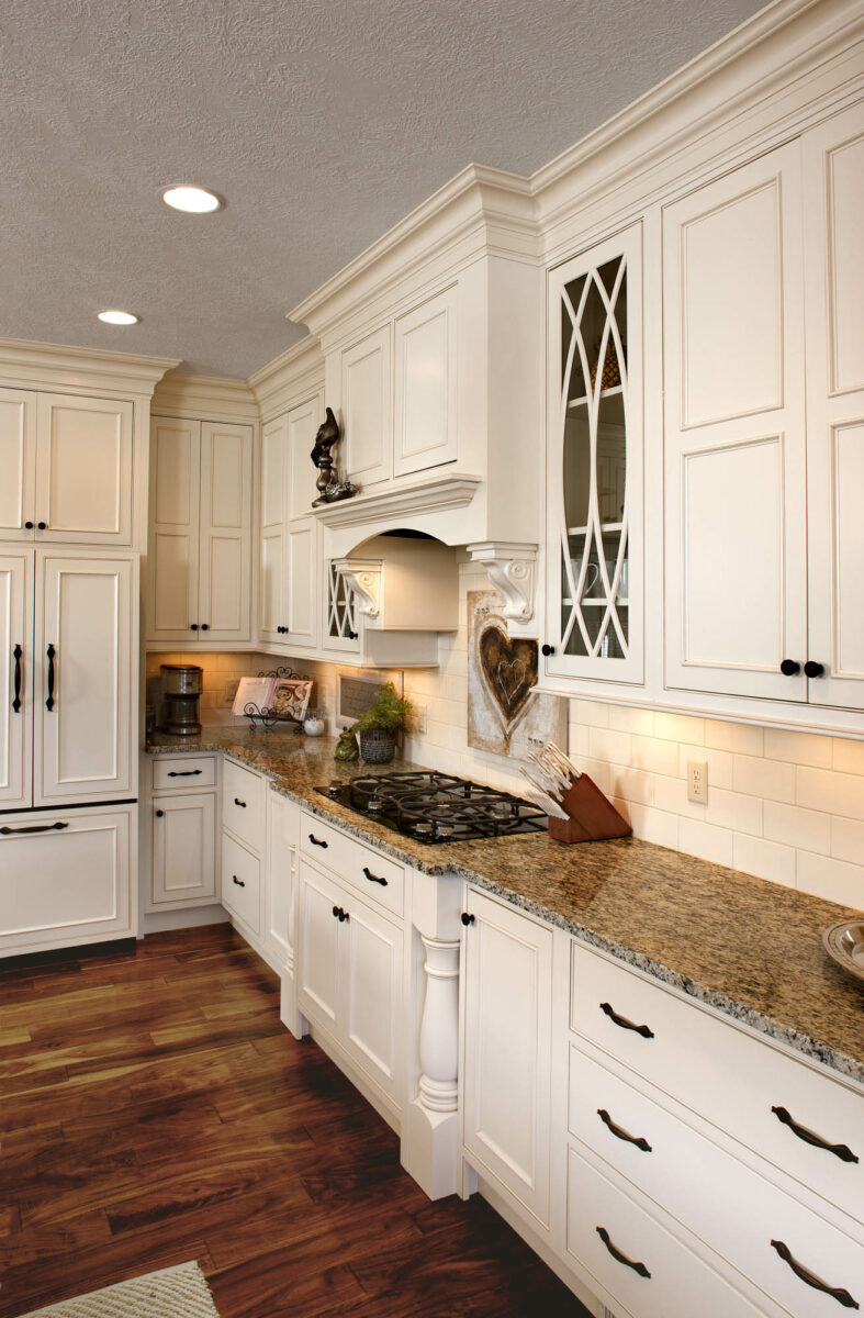 See this kitchen's graceful glass doors | Showplace Cabinetry