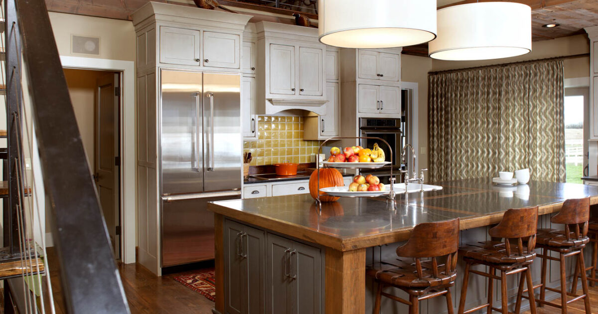 Great Painted Kitchen Cabinets In Vintage Oyster By Showplace Cabinetry   Feature
