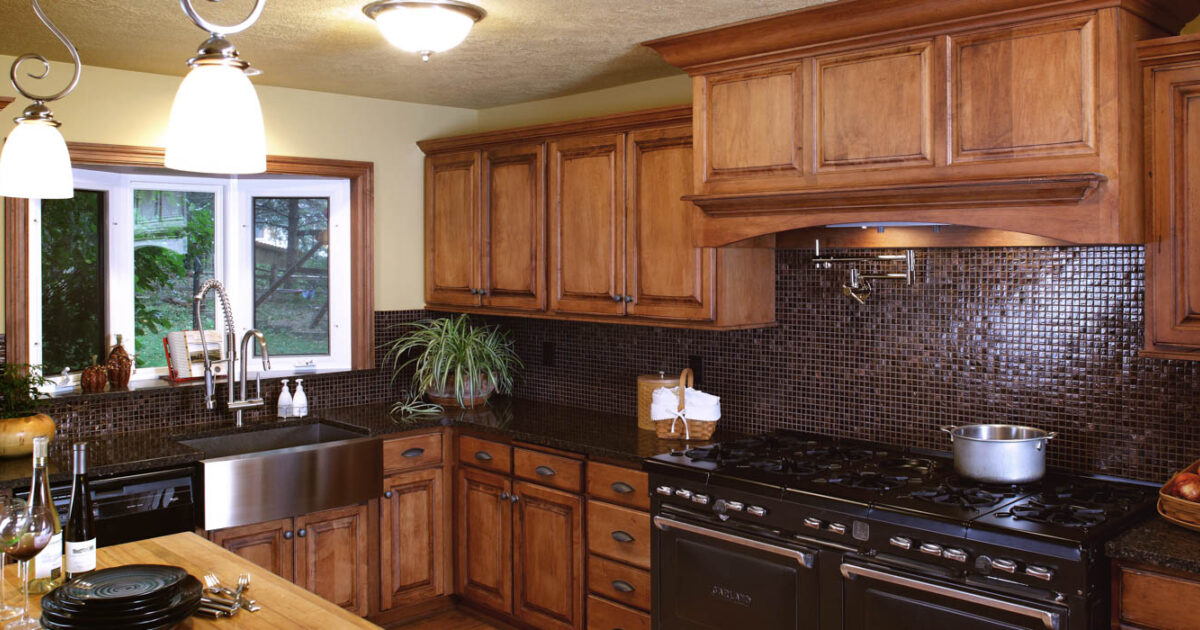 View the new cabinets in this refaced kitchen | Showplace ...