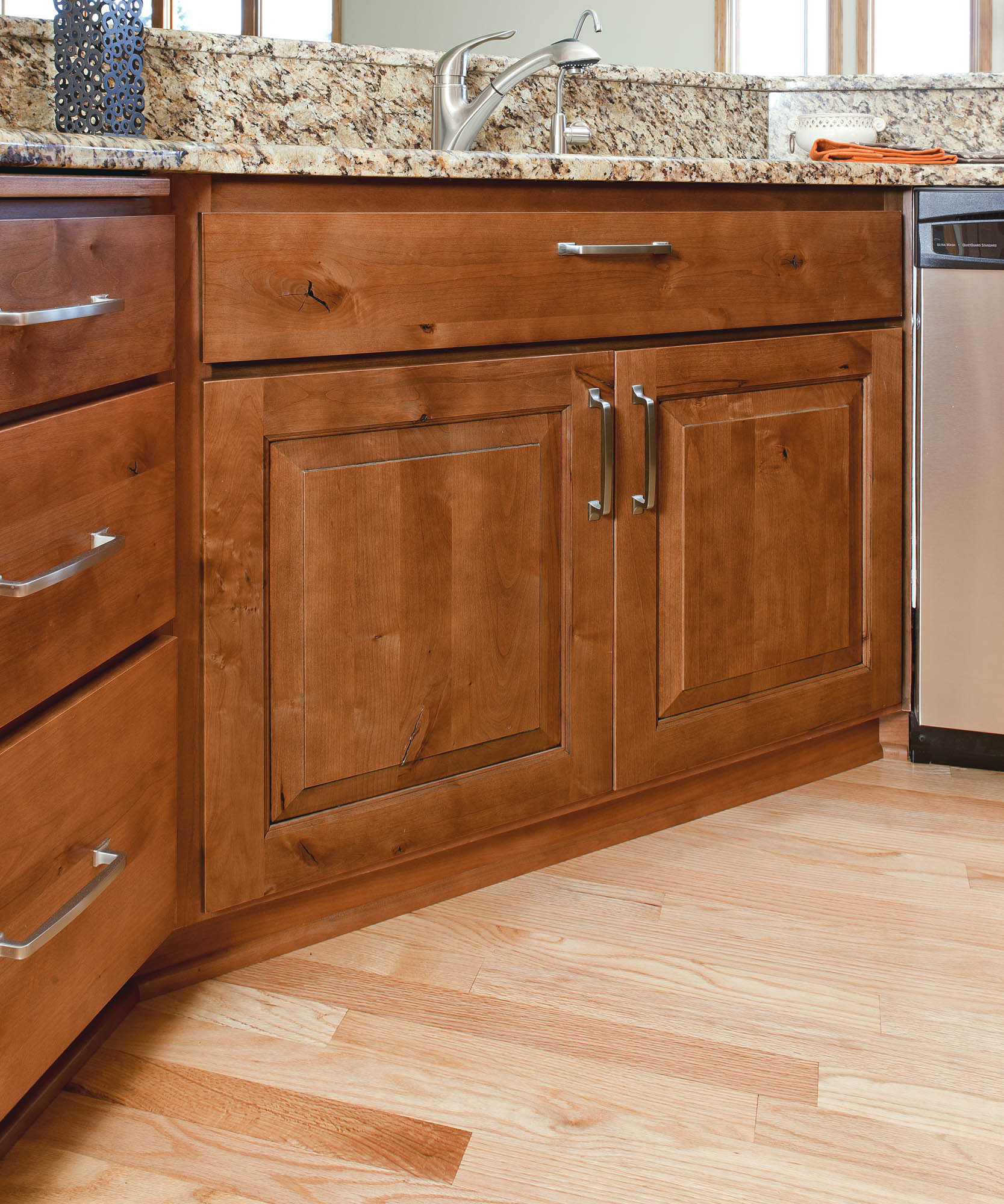Renew Kitchen Cabinets: See This Comfortable Refaced Kitchen