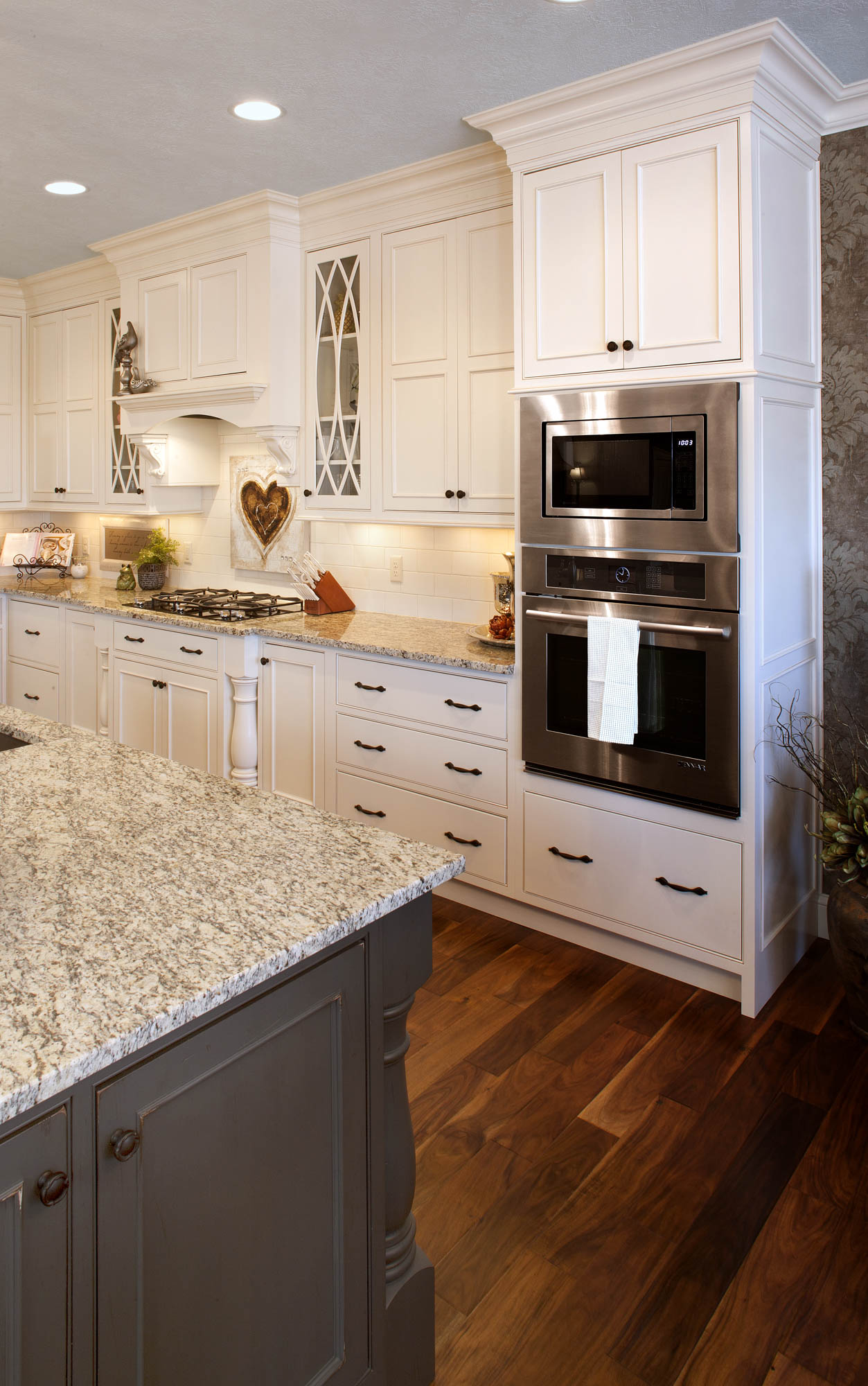 Painted Kitchen Cabinets In Soft Cream With Oatmeal Glaze By Showplace  Cabinetry   View 3