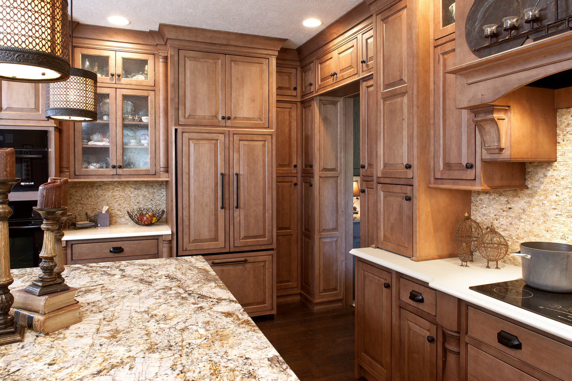 View the accents in this kitchen remodel | Showplace Cabinetry