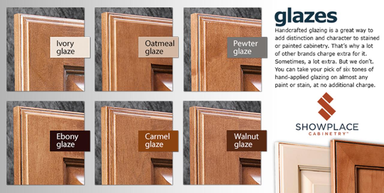 Glazes Showplace Cabinetry