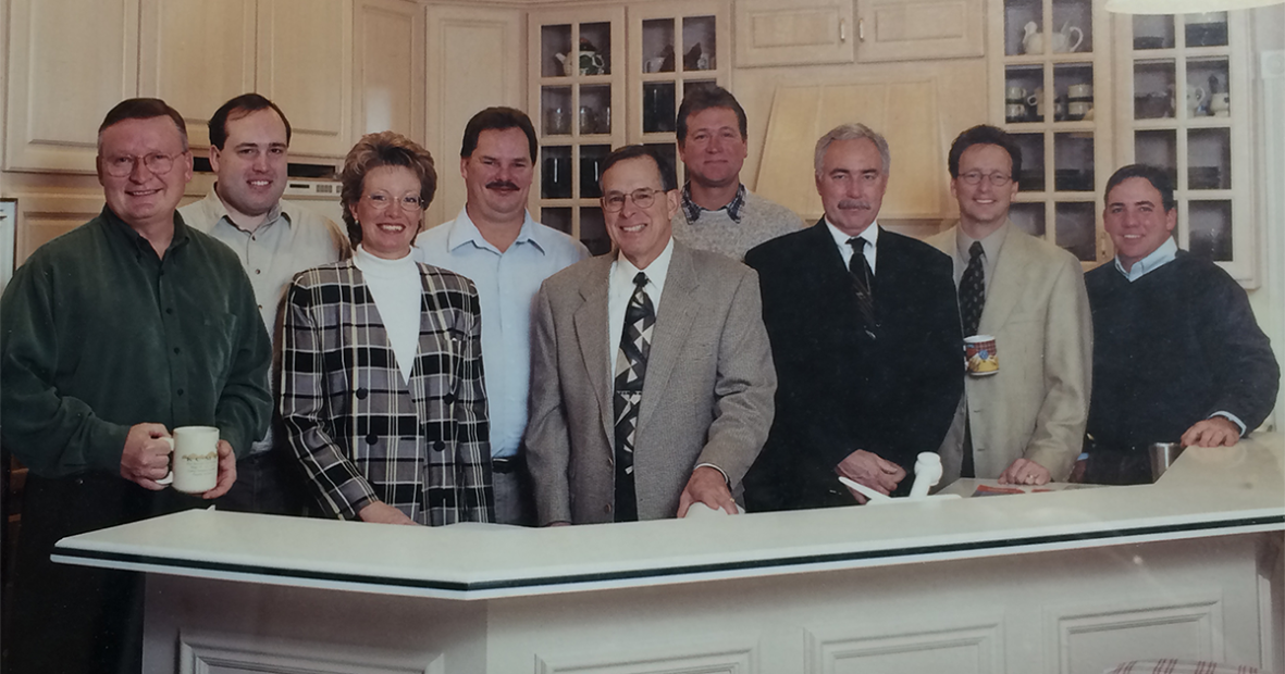 The original team that founded Showplace in 1999