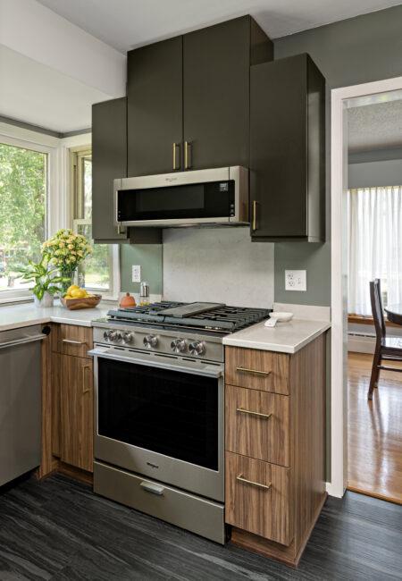Kitchen Design - Best Small Kitchen Design | First Place Winner | DreamMaker Bath & Kitchen - St. Louis Park, MN | Showplace Cabinetry | view 2