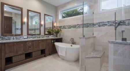 Bath Design - Transitional | Honorable Mention | DreamMaker Bath & Kitchen - Stuart, FL | Showplace Cabinetry | view 1