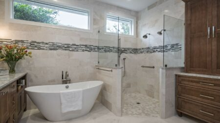 Bath Design - Transitional | Honorable Mention | DreamMaker Bath & Kitchen - Stuart, FL | Showplace Cabinetry | view 2
