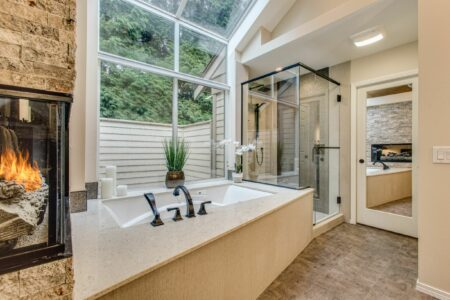 Bath Design - Contemporary | Second Place Winner | DreamMaker Bath & Kitchen - Bellingham, WA​ | Showplace Cabinetry | view 1
