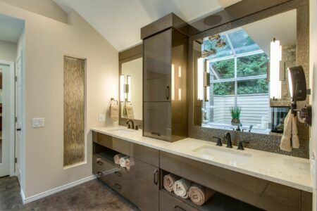 Bath Design - Contemporary | Second Place Winner | DreamMaker Bath & Kitchen - Bellingham, WA​ | Showplace Cabinetry | view 2