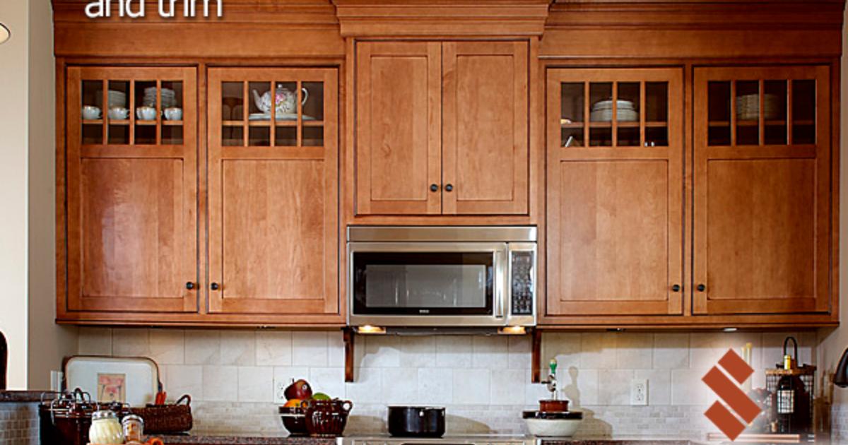 Moldings Amp Trim Showplace Cabinetry