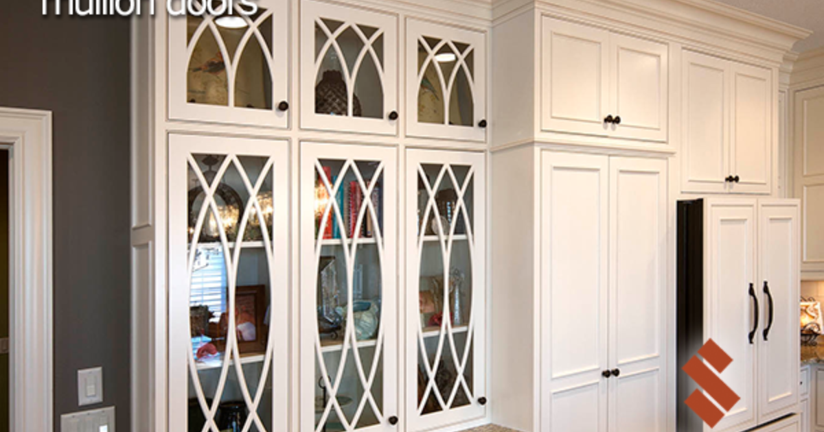 Gl Mullion Choices Showplace Cabinetry